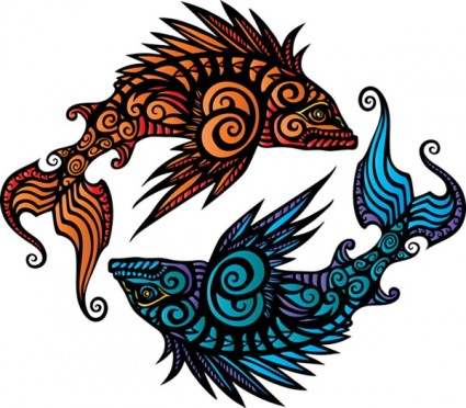 Pisces clipart two #4