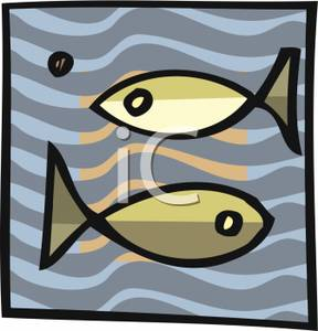 Pisces clipart two The Clipart Free Picture Pisces