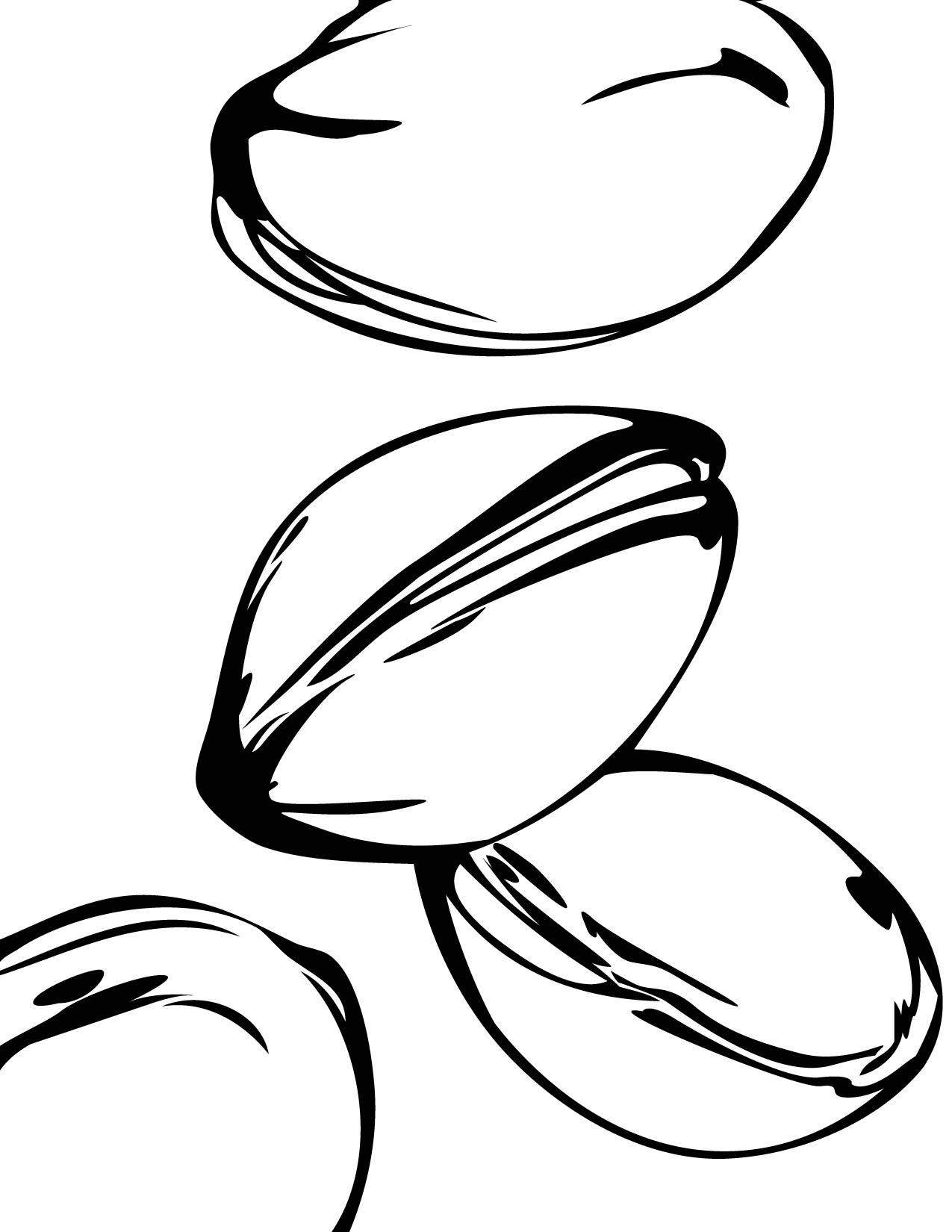 Nut clipart coloring #Pistachios 1 #PistachiosColoringPages Pistachios Coloring
