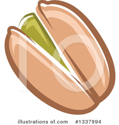 Pistachio clipart vector #1337994 Free Tradition Clipart by