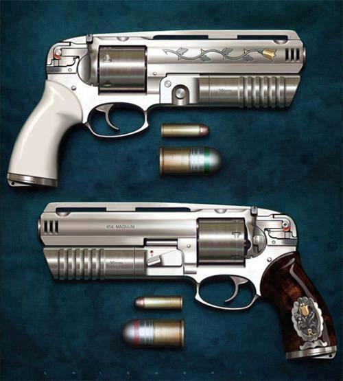Pistol clipart 30 mm Guns ammo 400 Pinterest