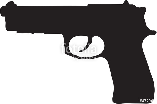 Violence clipart handgun Art gun photo path