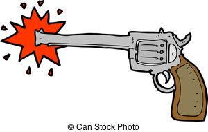 Shotgun clipart cartoon Art Vector collection gun Firing