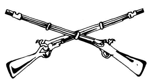 Pistol clipart civil war Skull clipart Civil war Crossed