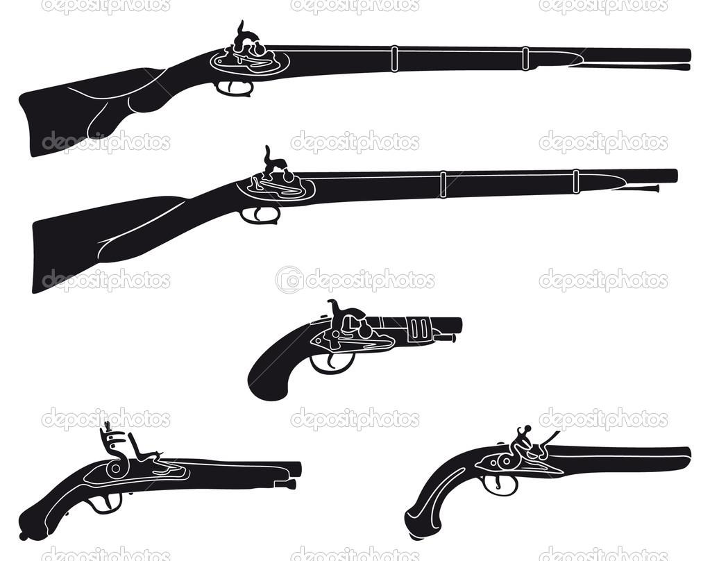 Pistol clipart civil war Civil art white jpeg Clipart