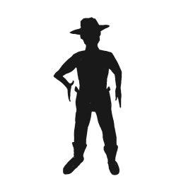 Shadows clipart cowboy Clipart Clipart Images Gun Panda