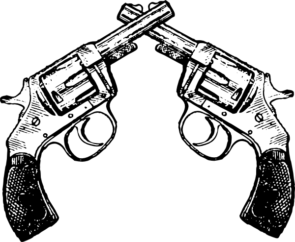 Rifle clipart two gun Download Clip vector 2x this