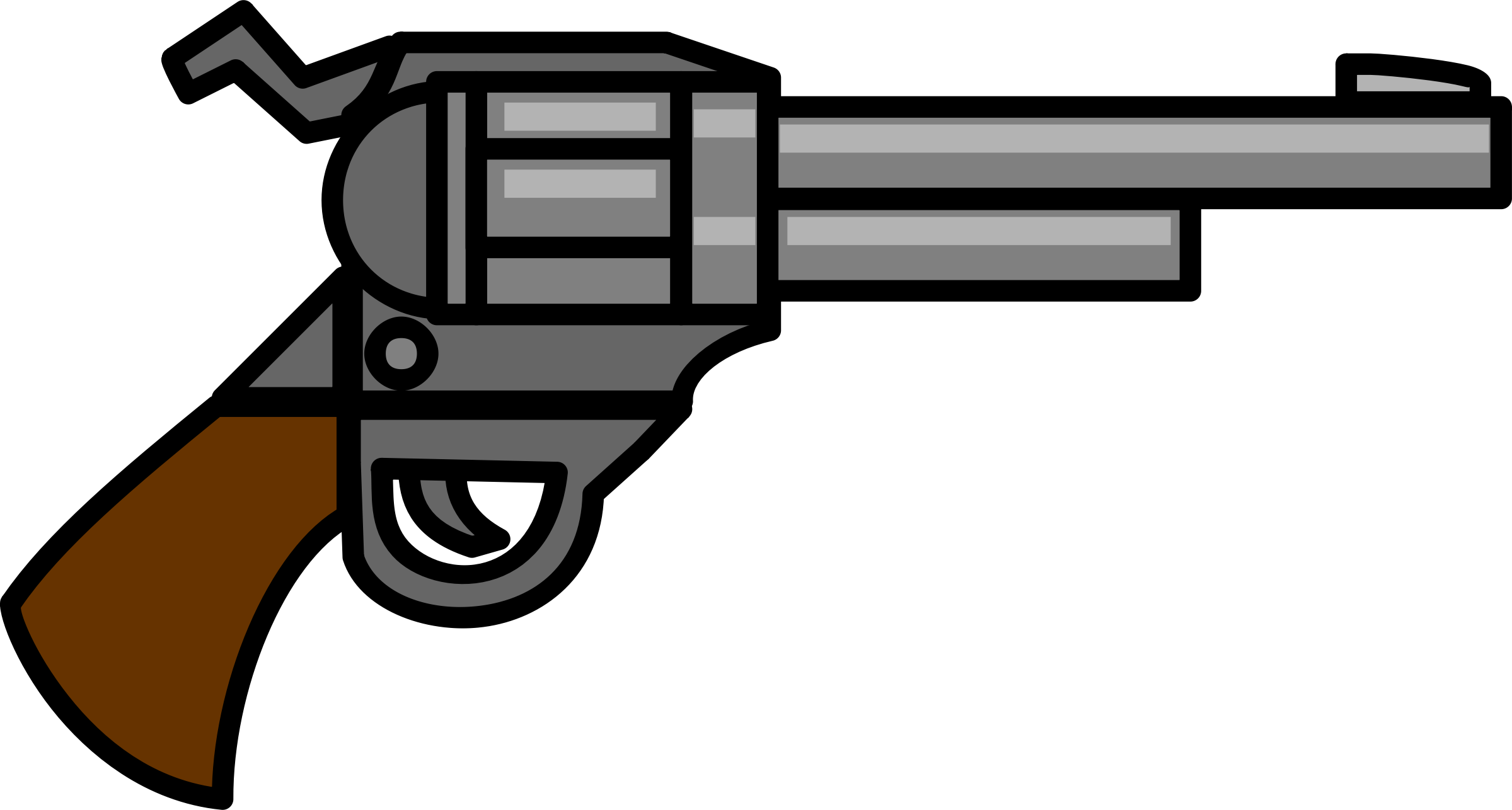 Pistol clipart rifle #8