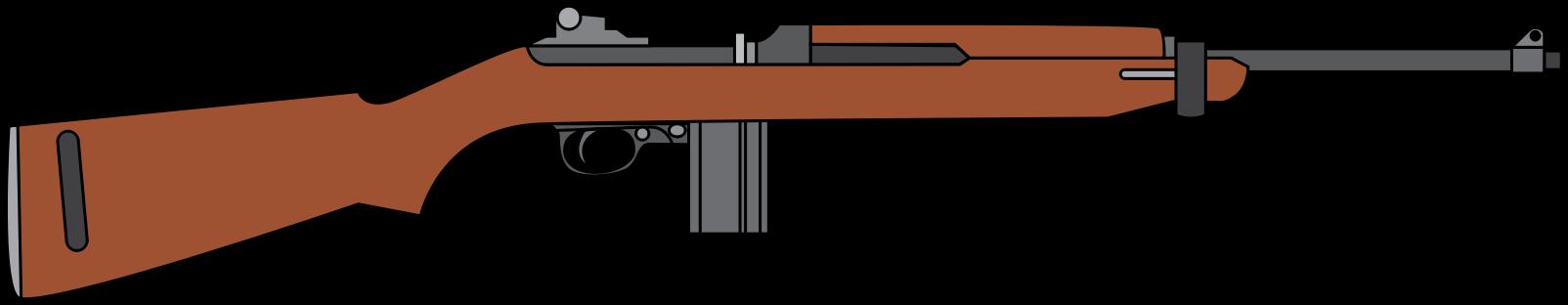 Pistol clipart rifle #12