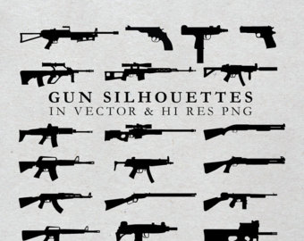 Rifle clipart weapon #3