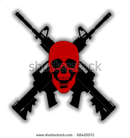 Rifle clipart two gun Crossed%20guns Clipart Free Crossed Images