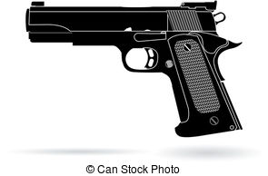 Rifle clipart firearm Pistol drawings clipart Pistol clipart