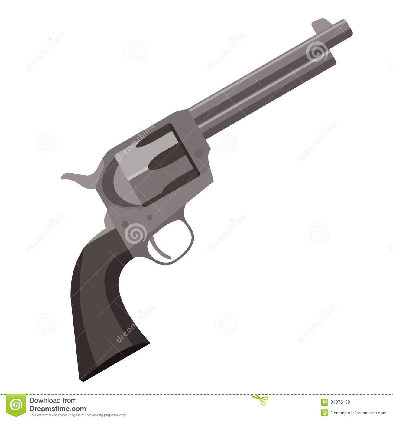 Gun clipart cowboy gun #3