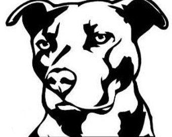Pit Bull clipart american pitbull Bull Etsy american American pitbull