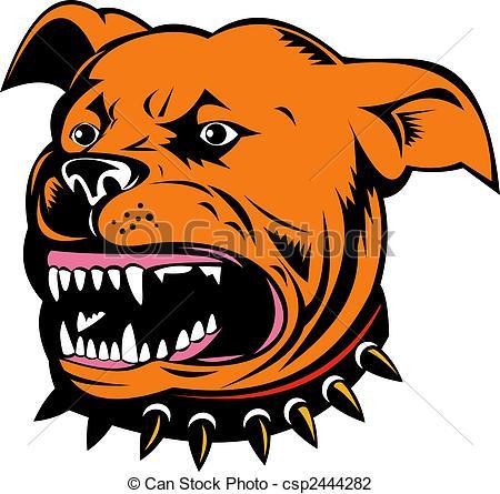 Pit Bull clipart american pitbull Clip bull  Terrier illustration
