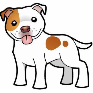 Pit Bull clipart spotted dog Photo Pit Bull Sculptures Staffie
