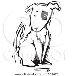 Pit Bull clipart spotted dog Figure spot Bull DOGS Park