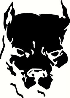 Pit Bull clipart tribal Vinyl Choose Cut Decal Pit