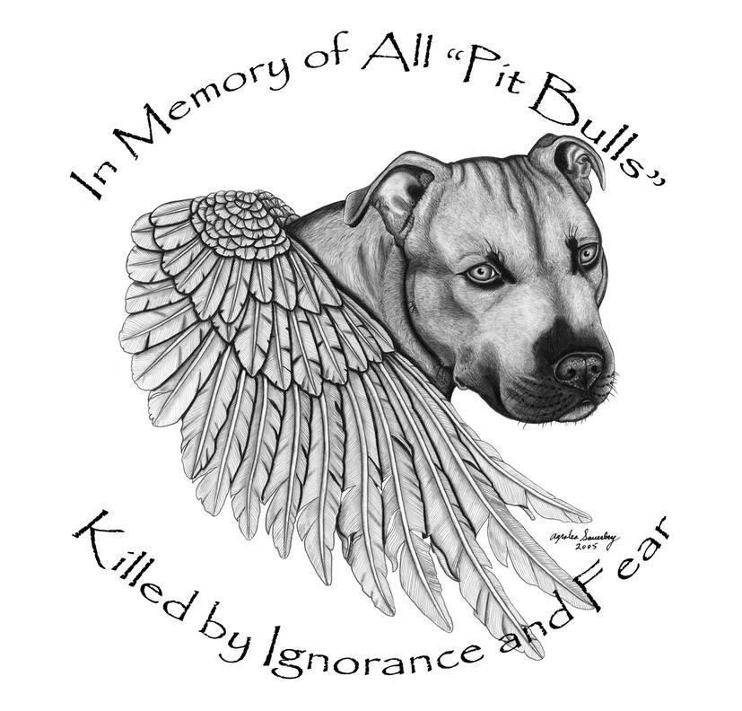 Pit Bull clipart wing SAVE pitbull Tattoo tattoo designs