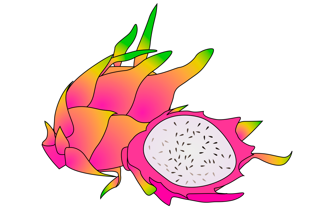 Pitaya clipart thailand Spectacular Pictures Fruit fruit Names
