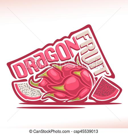 Pitaya clipart chinese dragon  of Clip Vector of
