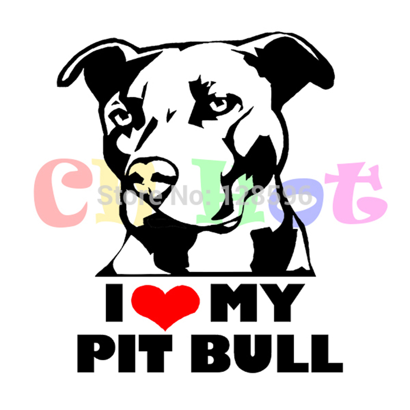 Pitbull clipart pitbul Pitbull truck Decal 16 car