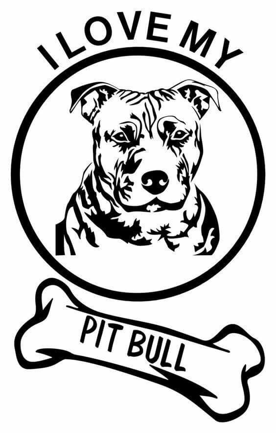 Pitbull clipart vicious dog And with Officer Pin Pit