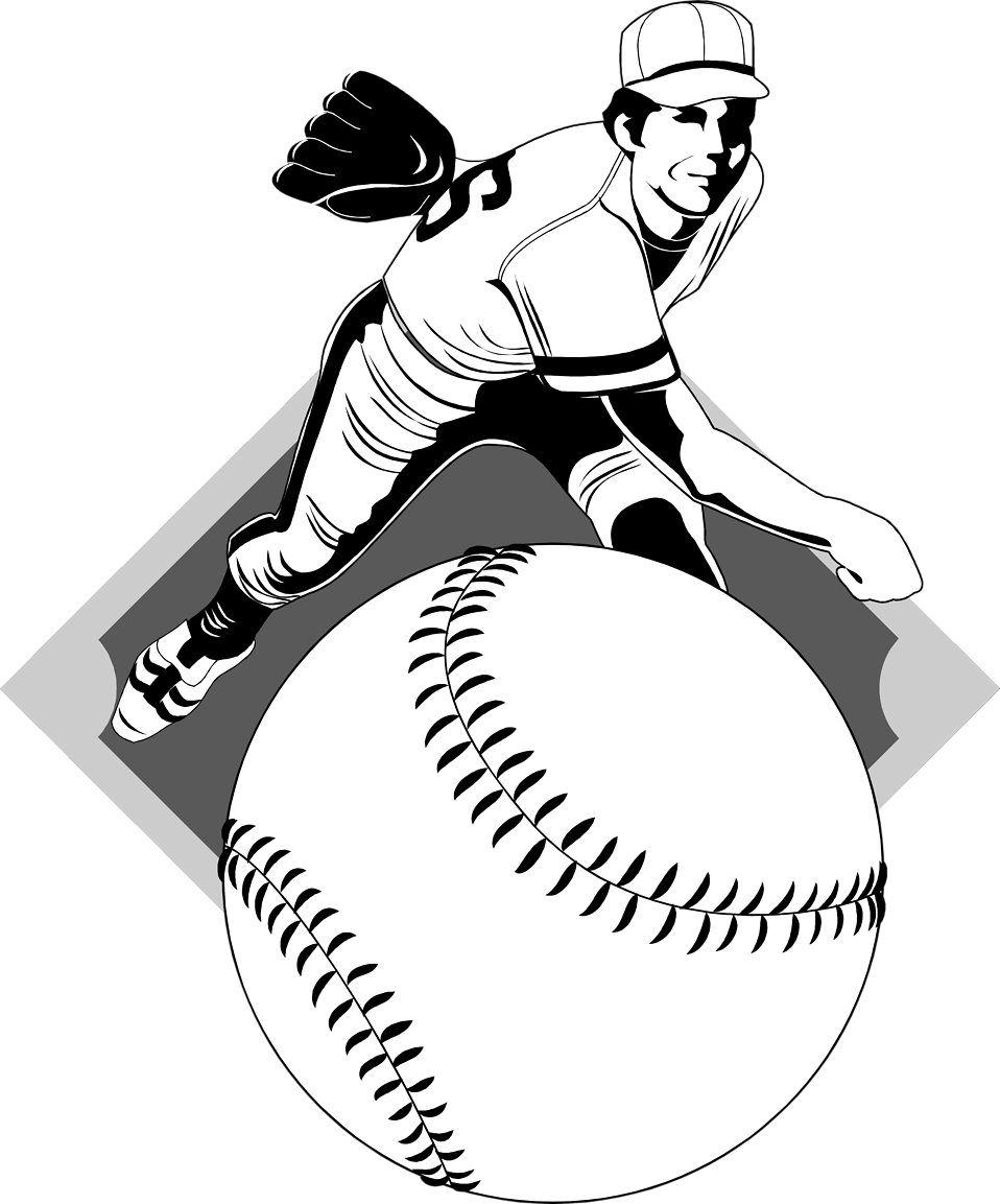 Pitcher clipart baseball #11