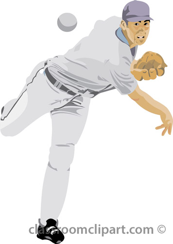 Pitcher clipart baseball #5