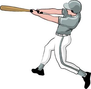Baseball clipart baseball game Pitch Taking Swing Clipart Batter