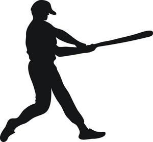 Shadow clipart softball #11