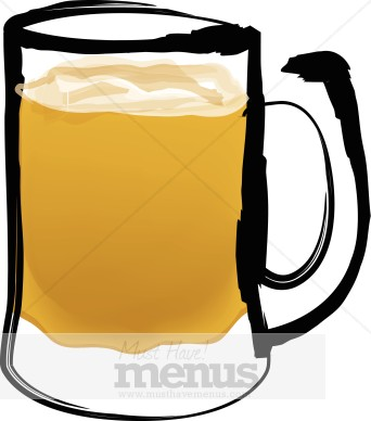 Beer clipart beer glass #6