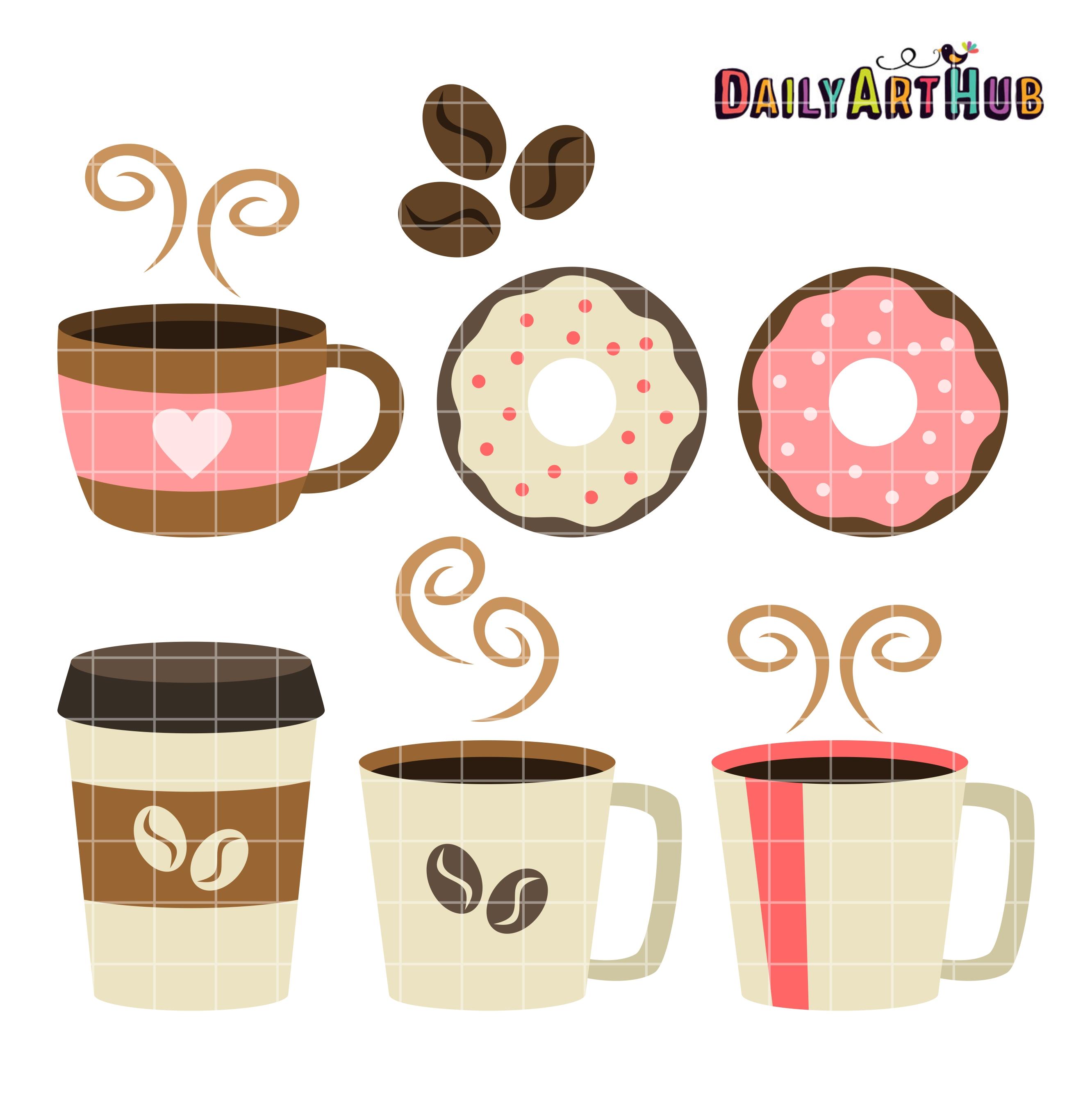 Coffee clipart coffee break Art Clipart Coffee Print to