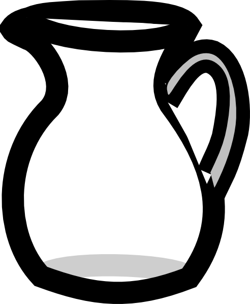 Pitcher clipart full water #3