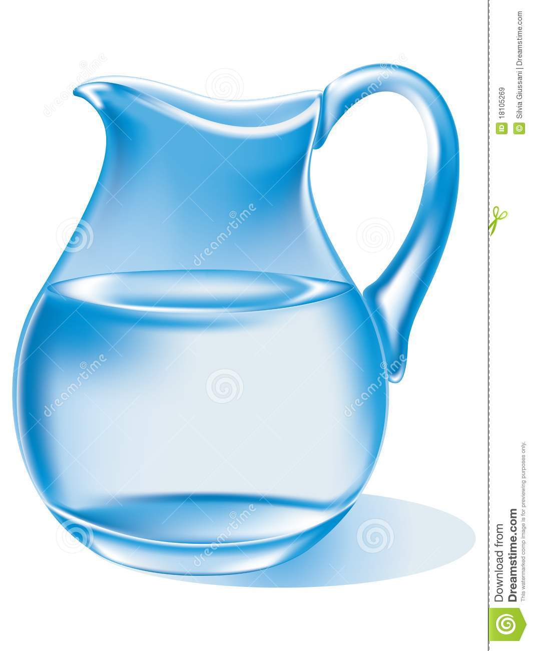 Blue Water clipart jug water Pitcher%20of%20water%20clipart Water Of Clipart Images