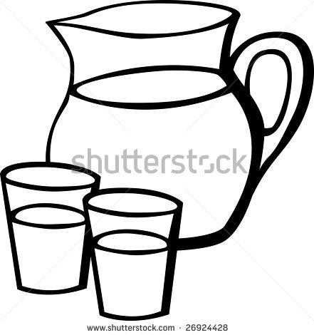 Pitcher clipart jug #13