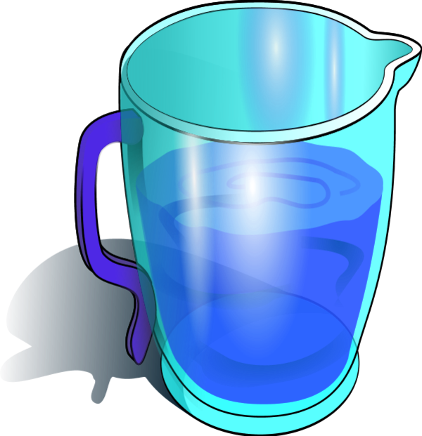 Blue Water clipart jug water Water Free Water clipart Clip