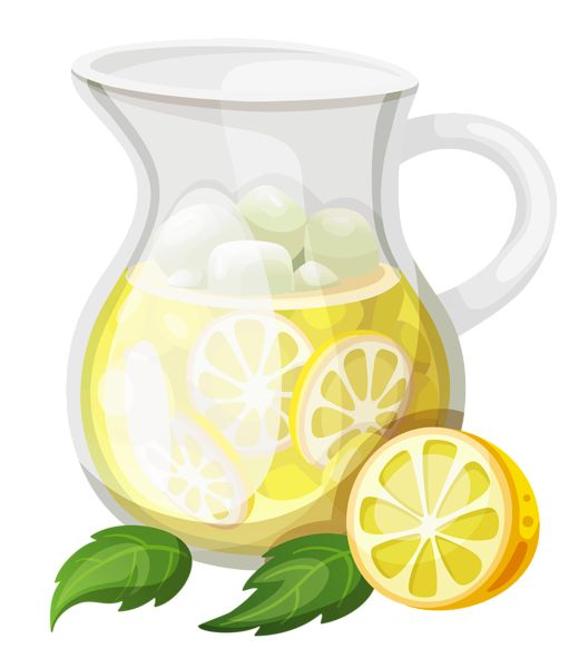Beverage clipart lemonade pitcher Art Transparent ClipArt Lemonade on