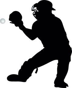 Shadow clipart softball #12