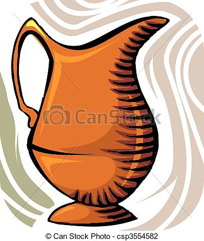 Pitcher clipart water jar #9
