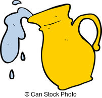 Pitcher clipart water jar #2