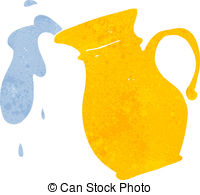Pitcher clipart water jar #12