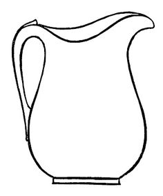 Pitcher clipart water jar #8