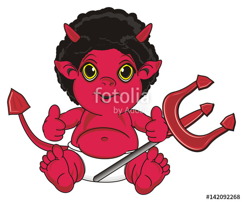 Pitchfork clipart tail Fictional devil  horns tail