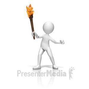 Pitchfork clipart torch #12