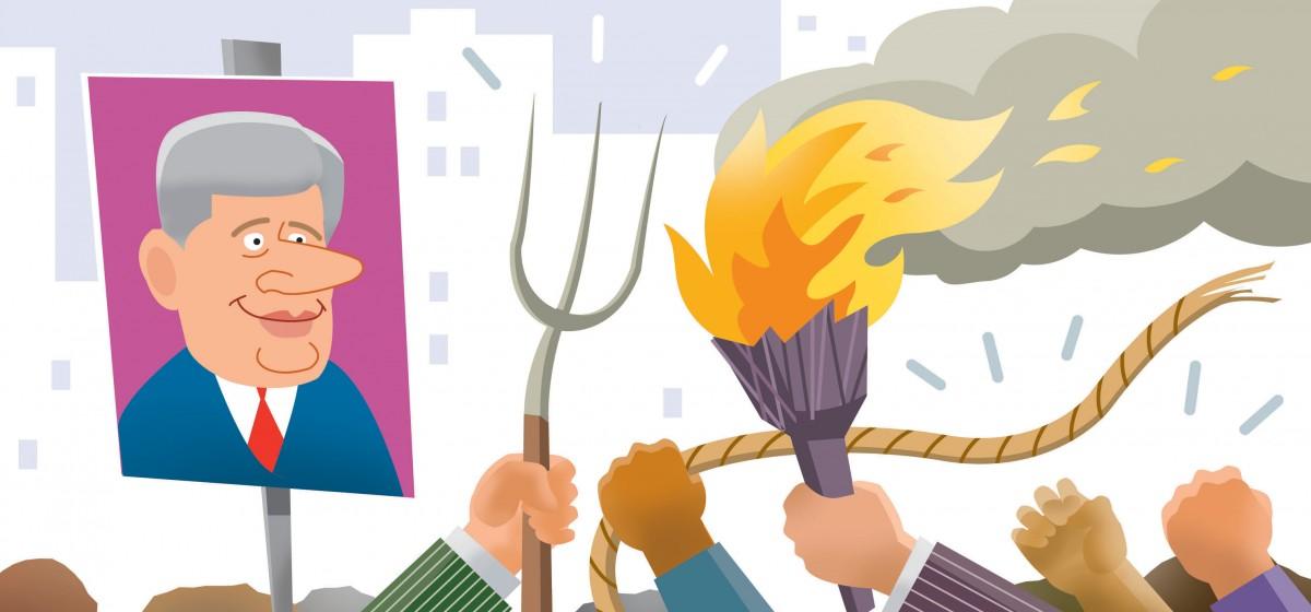 Pitchfork clipart torch #4