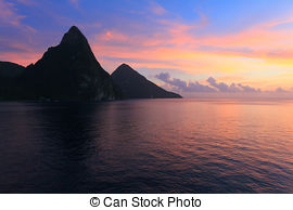 Pitons clipart #4