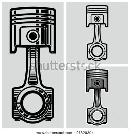 Pitons clipart Garage best pistons on Pinterest