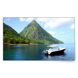 Pitons clipart Stickers St Lucia Pitons Sticker