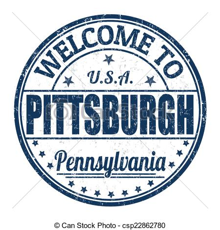 Pittsburgh clipart Welcome to Pittsburgh Welcome Vector